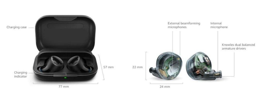 комплект Amazon Echo Buds