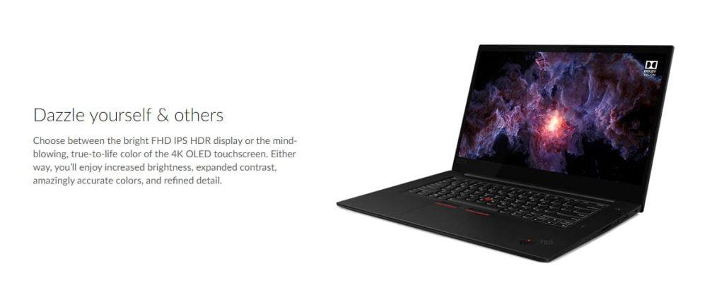 Производительность Lenovo ThinkPad X1 Extreme (Gen 2)