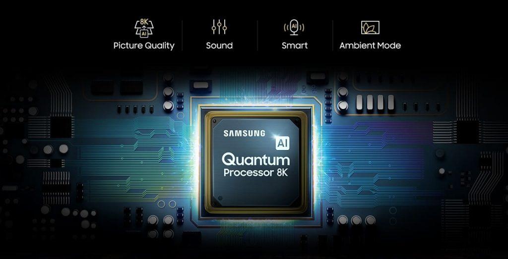 процессор Samsung Q950 8K QLED