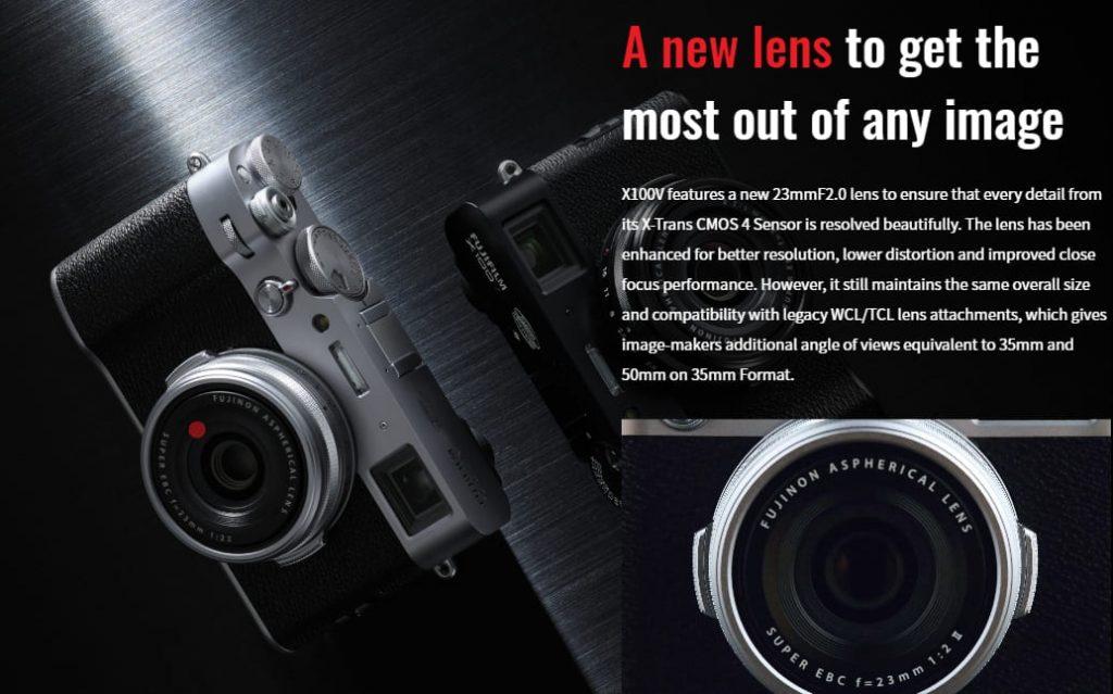 Fujifilm X100V вид