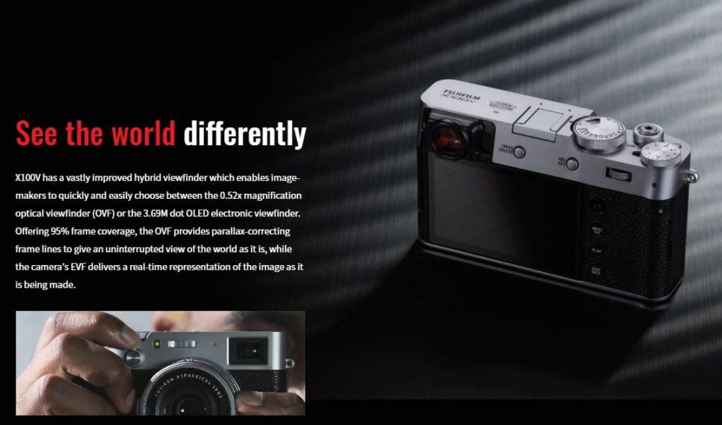 Fujifilm X100V жк дисплей