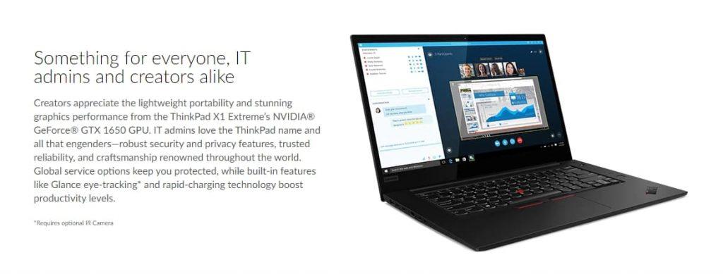 дисплей Lenovo ThinkPad X1 Extreme (Gen 2)